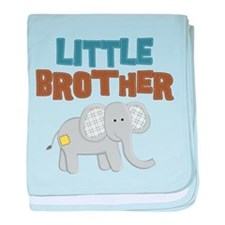 Little Bro Elephant baby blanket