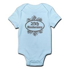 25th Wedding Aniversary (Engraved) Infant Bodysuit