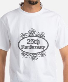 25th Wedding Aniversary (Engraved) Shirt