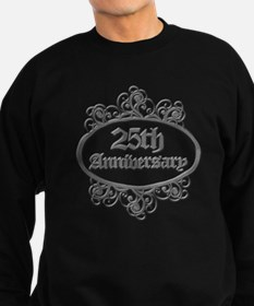 25th Wedding Aniversary (Engraved) Sweatshirt