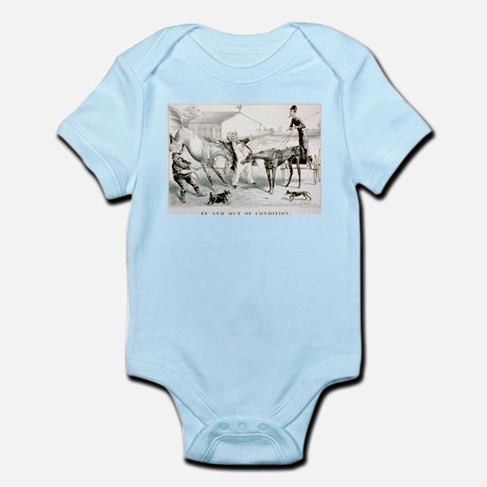 In and out of condition - 1877 Infant Bodysuit