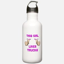 This Girl Likes Trucks Water Bottle