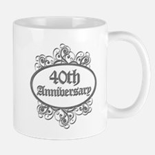 40th Wedding Aniversary (Engraved) Mug