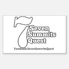 Seven Summits Quest Logo Decal