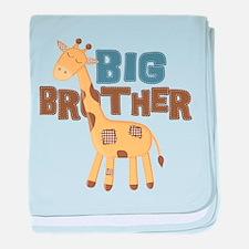 Big Bro Giraffe baby blanket