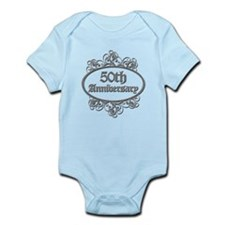 50th Wedding Aniversary (Engraved) Infant Bodysuit