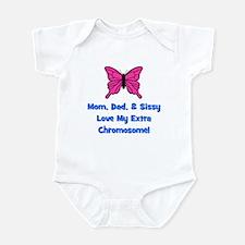 Mom, Dad, & Sissy - Extra Chr Infant Bodysuit