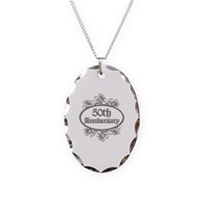 50th Wedding Aniversary (Engraved) Necklace