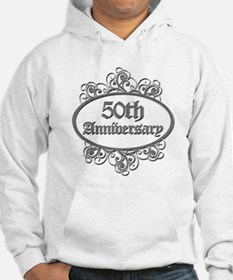 50th Wedding Aniversary (Engraved) Hoodie