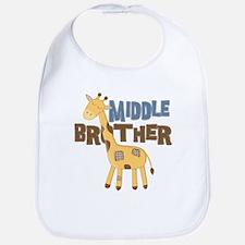 Middle Bro Giraffe Bib