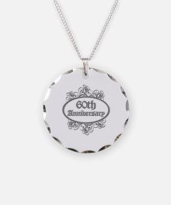 60th Wedding Aniversary (Engraved) Necklace