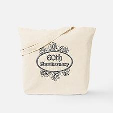 60th Wedding Aniversary (Engraved) Tote Bag