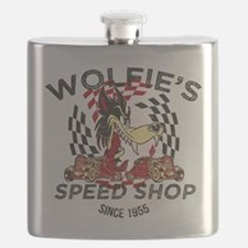 Wolfie's Speed Shop Flask