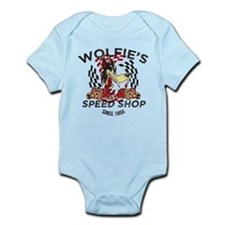 Wolfie's Speed Shop Infant Bodysuit