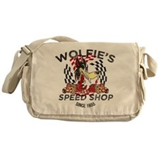Wolfie's Speed Shop Messenger Bag