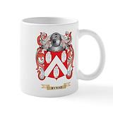 Byrne family crest Small Mugs (11 oz)