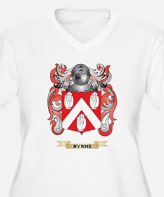 Byrne Coat of Arms Plus Size T-Shirt