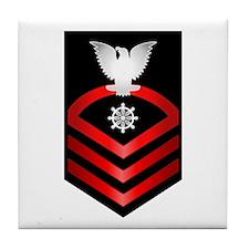Navy Chief Quartermaster Tile Coaster