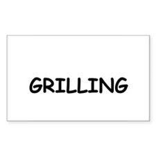 Grilling Decal