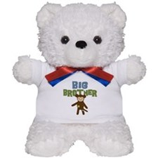 Big Bro Monkey Teddy Bear