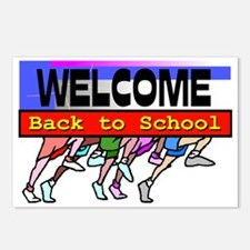 welcome back to school postcards welcome back to school post card design template. Black Bedroom Furniture Sets. Home Design Ideas