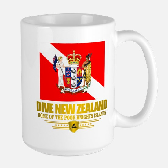 Dive New Zealand Mug