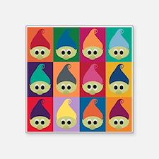 """Troll Blocks Square Sticker 3"""" x 3"""""""