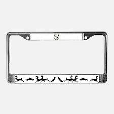 Montana deer skull License Plate Frame