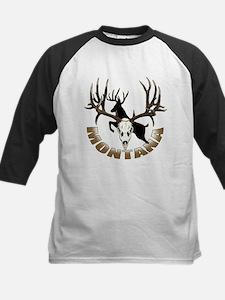 Montana deer skull Tee
