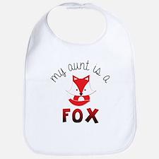My Aunt is a Fox! Bib