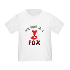 My Aunt is a Fox! T-Shirt