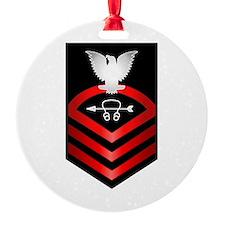 Navy Chief Sonar Technician Ornament