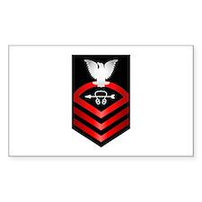 Navy Chief Sonar Technician Decal