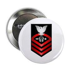 """Navy Chief Sonar Technician 2.25"""" Button"""