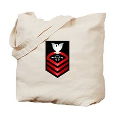 Navy Chief Sonar Technician Tote Bag