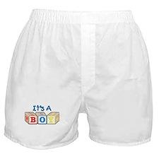 It's A Boy Boxer Shorts