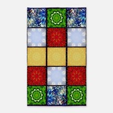Five Elements Banner 3'x5' Area Rug
