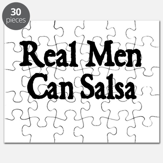 REAL MEN CAN SALSA Puzzle