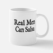 REAL MEN CAN SALSA Mug