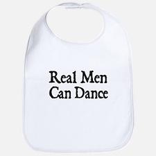 REAL MEN CAN DANCE Bib