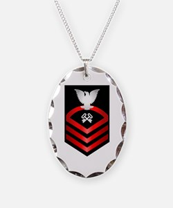 Navy Chief Storekeeper Necklace