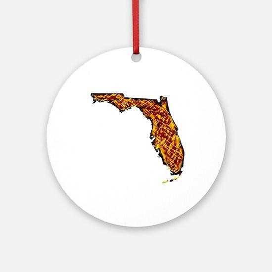 FLORIDA Round Ornament