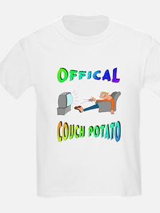 OFFICAL COUCH POTATO! Kids T-Shirt