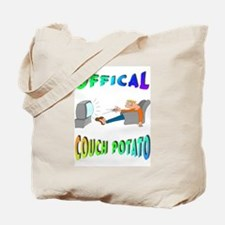 OFFICAL COUCH POTATO! Tote Bag