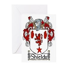 Shields Coat of Arms Greeting Cards (Pk of 10)