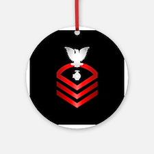 Navy Chief Utilitiesman Ornament (Round)