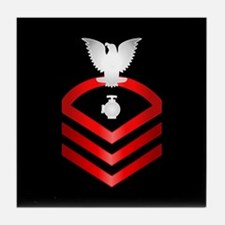 Navy Chief Utilitiesman Tile Coaster