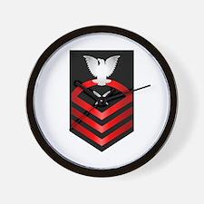 Navy Chief Yeoman Wall Clock