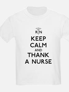 Keep Calm And Thank A Nurse T-Shirt