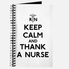 Keep Calm And Thank A Nurse Journal
